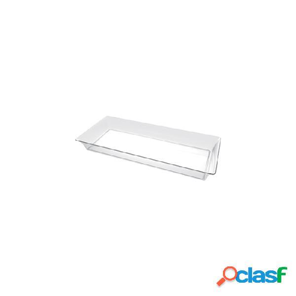 Piattini Karo Monouso In Plastica Trasparente Cm 13X5 -