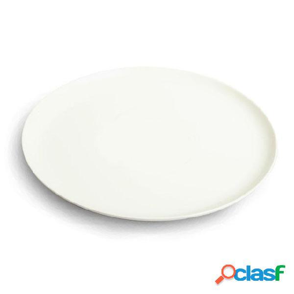 Piatto Pizza rotondo in melamina Ø 31,5 cm Colore Bianco