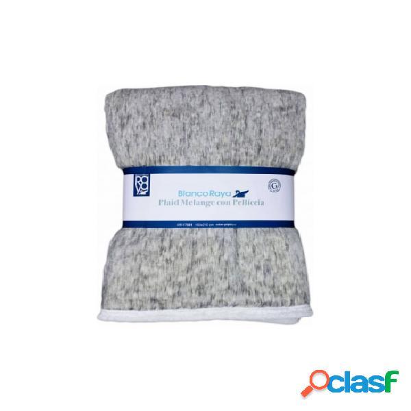 Plaid coperta in pelliccia sherpa per divano/letto hy17001..