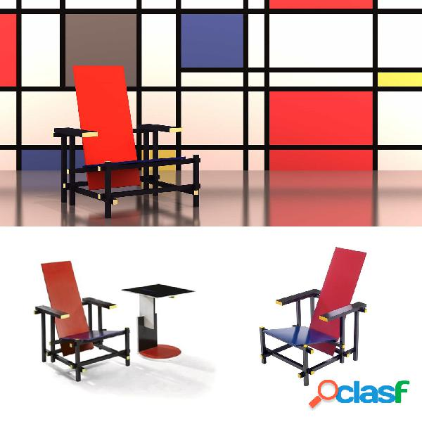 Poltrona Red e Blu by Rietveld