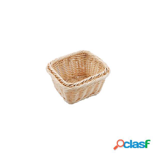 Porta Pane Gastronorm 1/6 In Polyrattan Color Naturale -