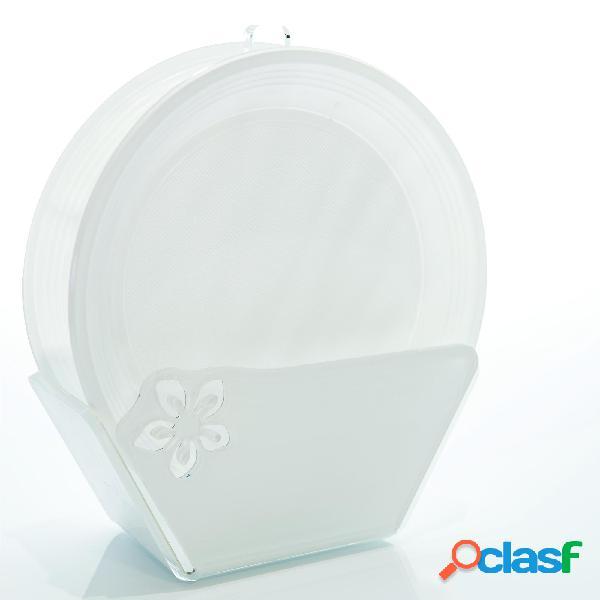 Porta piatti in Plexi SOPHIE 10,5x12x27 h cm in plexi