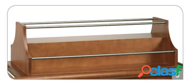 Portabottiglie superiore in legno