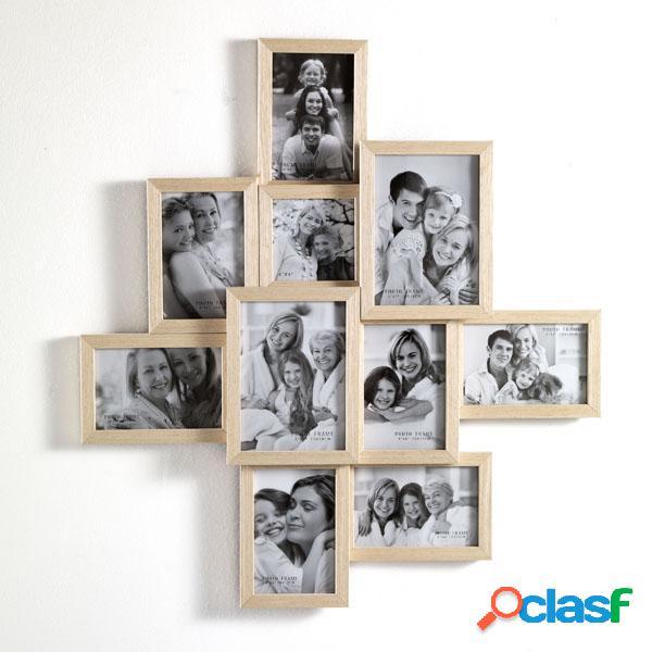 Portafoto da Muro in legno Massello