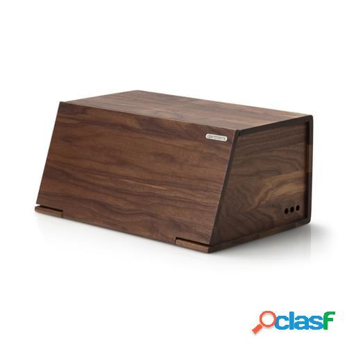 Portapane Legno in legno di noce, Cm 40x26x18,5