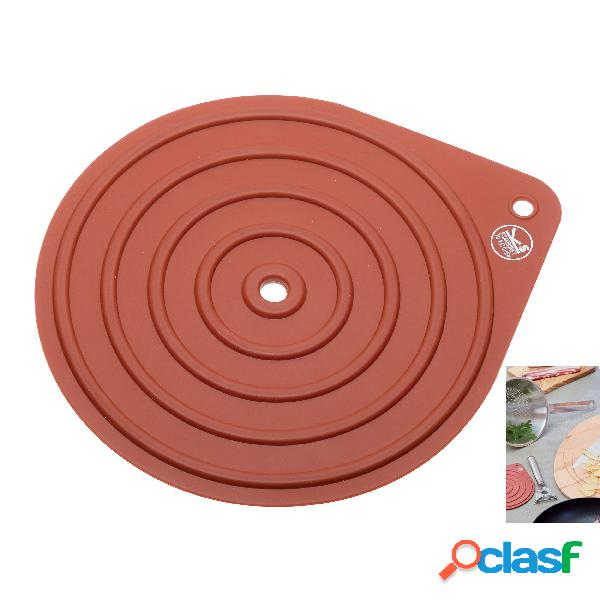 Presina rotonda in silicone 19,3x16,5 cm, per Afferrare