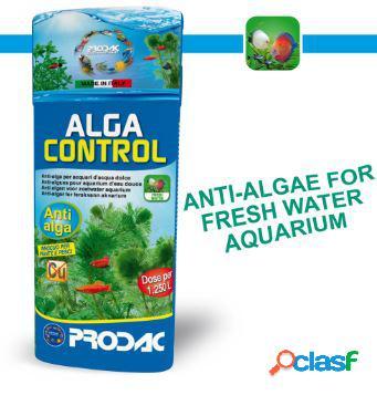 Prodac alga control 100ml - trattamento per acquari