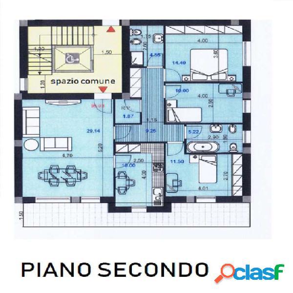 Prossima realizzazione - 3 camere 2 bagni