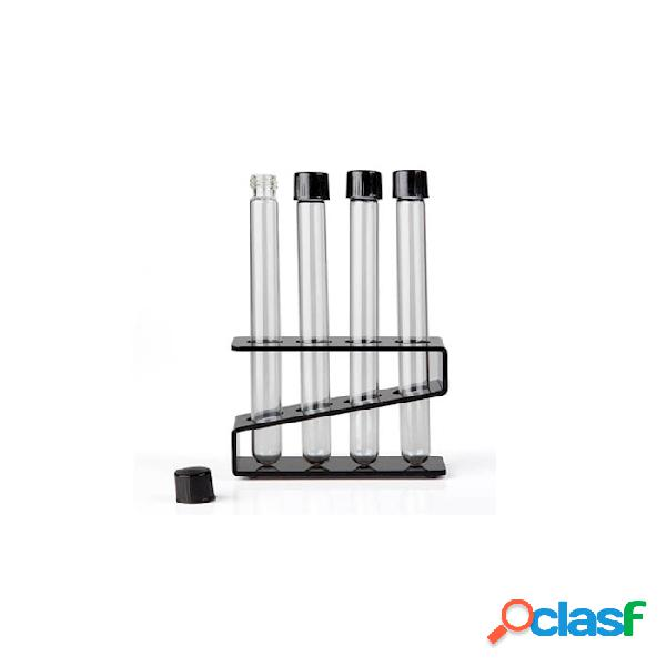Provetta Test Tube 100% Chef In Vetro Con Tappo Cl 2 -