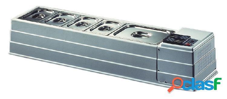 Refrigeratore da banco, L 1270 mm x P 330 mm x H 230 mm