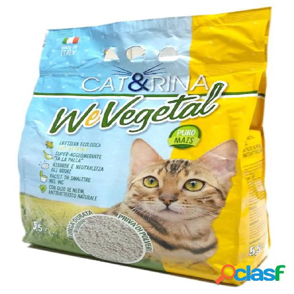 Rinaldo cat&rina wevegetal lettiera al mais lt 5.5