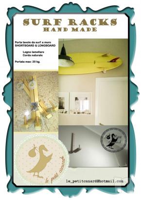 SURF RACKS - Porta tavole da surf a muro