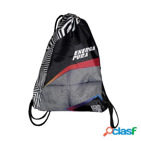 Sacca Energiapura Mini bag (Colore: blu fantasia, Taglia: