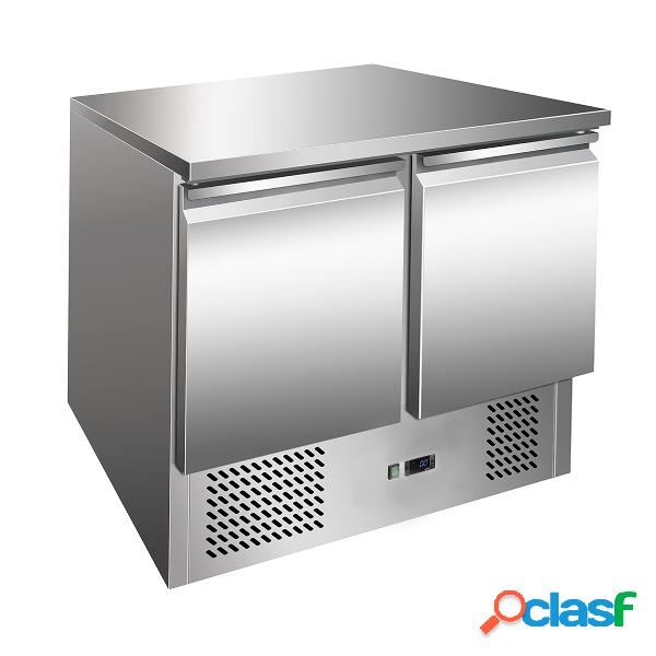 Saladette inox con refrigerazione statica -12°C /-18°C -