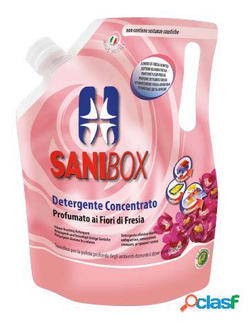 Sanibox igienizzante profumato ml 1000 ai fiori di fresia