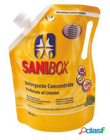 Sanibox igienizzante profumato ml 1000 al limone