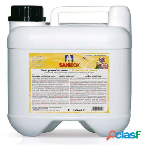 Sanibox igienizzante profumato ml 5000 al limone