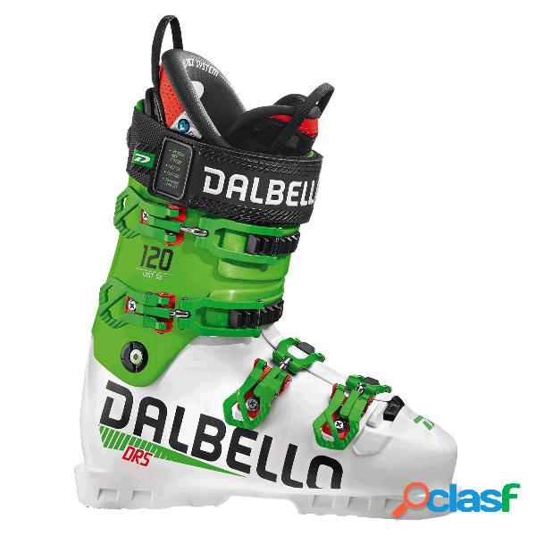 Scarponi sci Dalbello Drs 120 (Colore: white-race green,