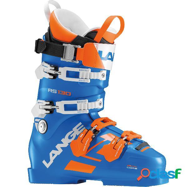 Scarponi sci Lange Rs 130 (Colore: blu-arancio, Taglia: 25)