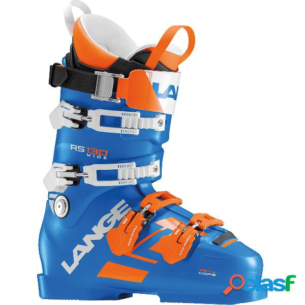 Scarponi sci Lange Rs 130 wide (Colore: blu-arancio, Taglia: