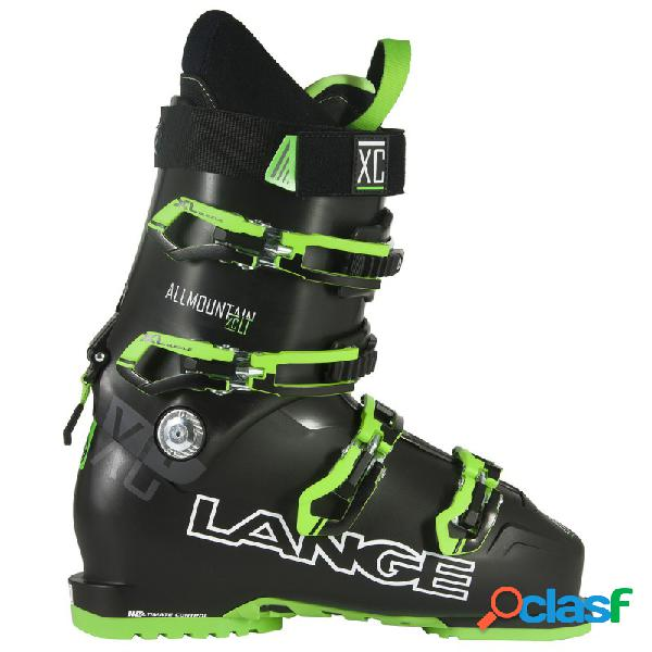 Scarponi sci Lange Xc Lt (Colore: nero-verde, Taglia: 31)
