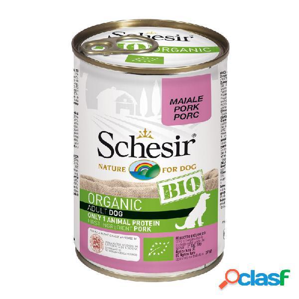 Schesir Bio - Schesir Dog Bio Organic Con Maiale Cibo Umido