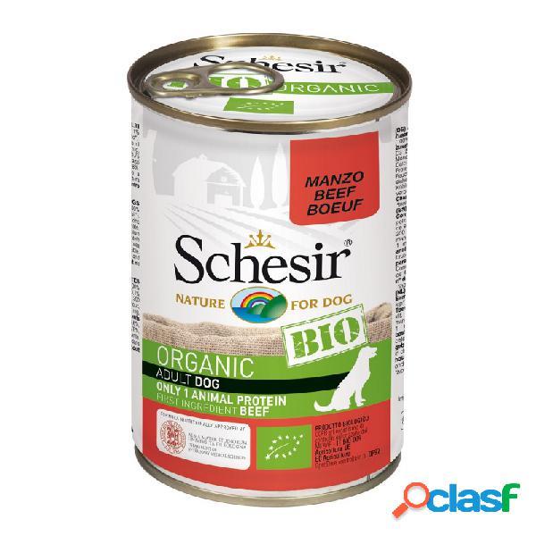 Schesir Bio - Schesir Dog Bio Organic Con Manzo Cibo Umido