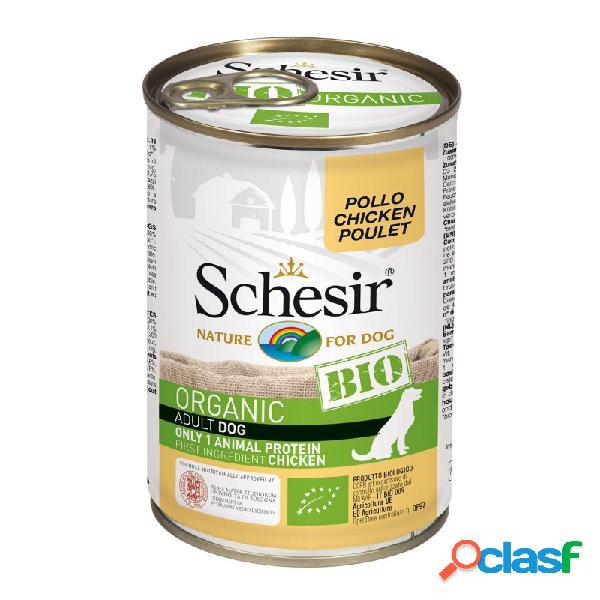 Schesir Bio - Schesir Dog Bio Organic Con Pollo Cibo Umido
