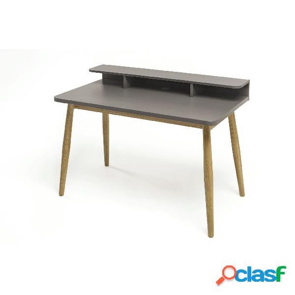 Scrivania Farsta in legno ingegnerizzato e massiccio,