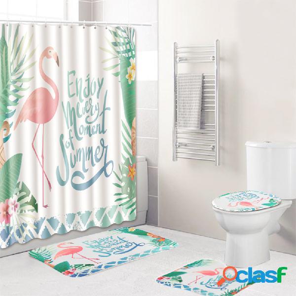 Set di 3 tappeti per bagno Set di tappeti per WC Set di