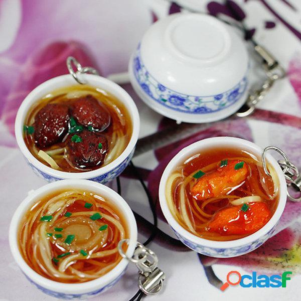 Simulazione Catene Chiave Alimentari Tagliatelle Cinese Mini