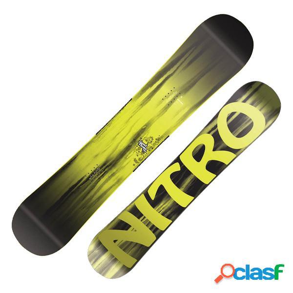 Snowboard Nitro Good Times Wide (Colore: nero-giallo,