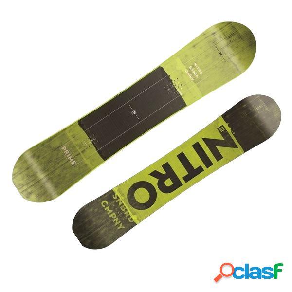 Snowboard Nitro Prime Toxic (Colore: nero-giallo, Taglia: