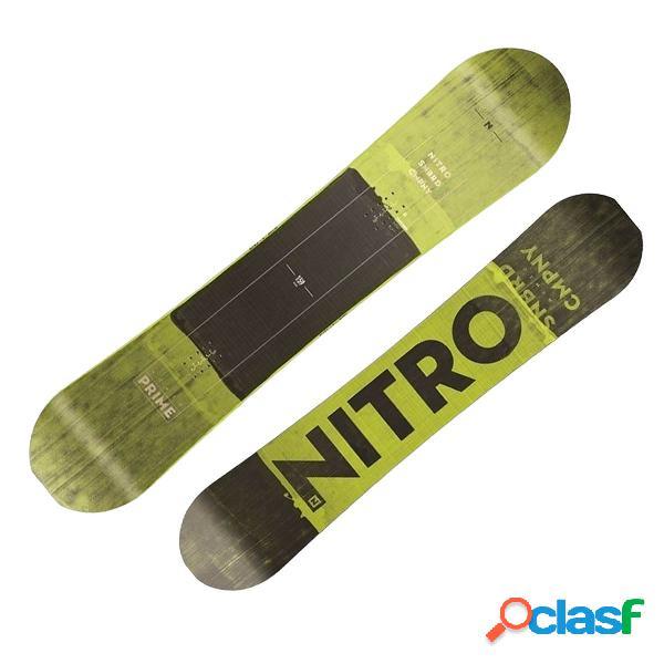 Snowboard Nitro Prime Toxic Wide (Colore: nero-giallo,