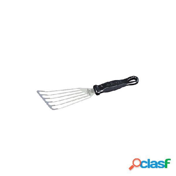 Spatola Flessibile Forata De Buyer In Acciaio Inox Cm 14