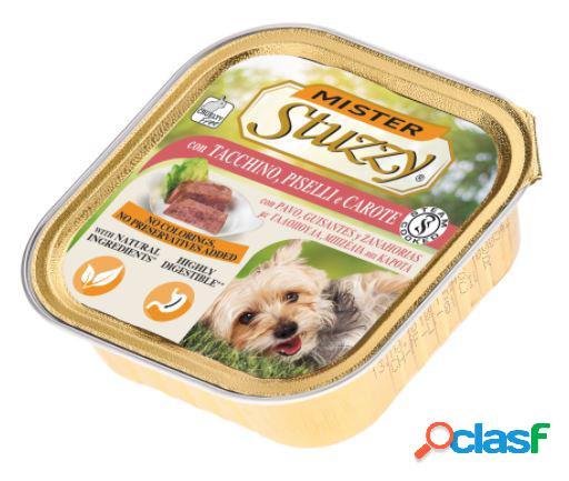 Stuzzy mister dog gr.150 con tacchino piselli e carote