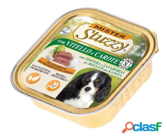 Stuzzy mister dog gr.150 con vitello e carote