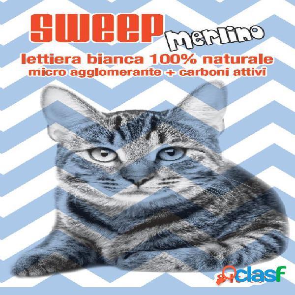 Sweep lettiera per gatti merlino 8 l