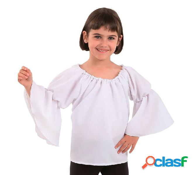 T-shirt bianca medievale per bambini