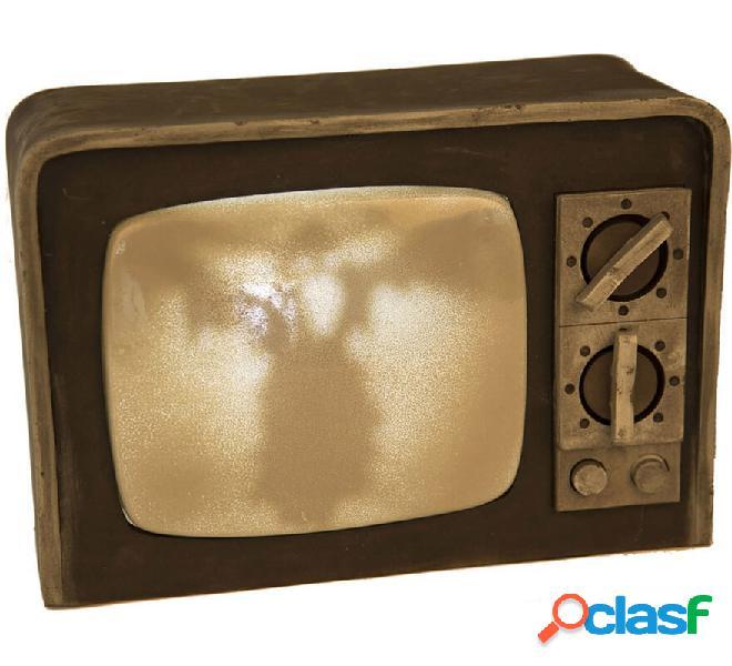TV horror con luce e suono di 31 cm