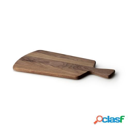 Tagliere Con Manico in legno di noce, cm 41,5x22,5x1,5