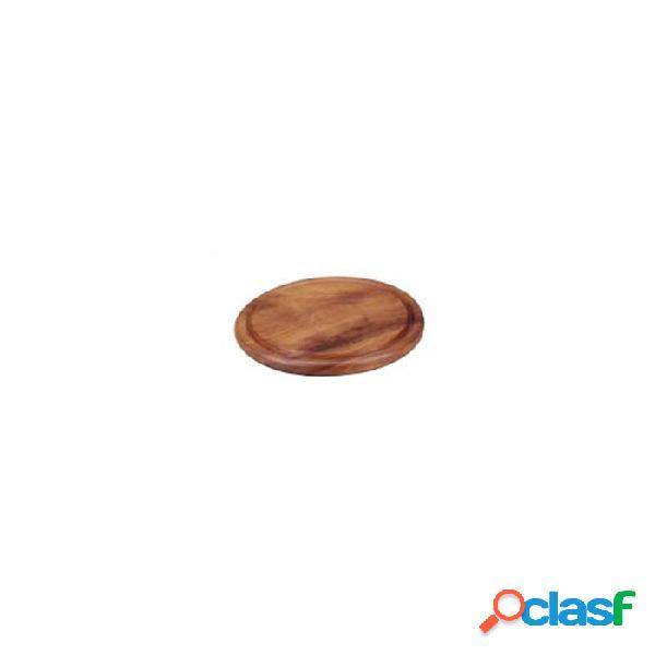 Tagliere Tondo In Legno Di Acacia Cm 25 - Marrone