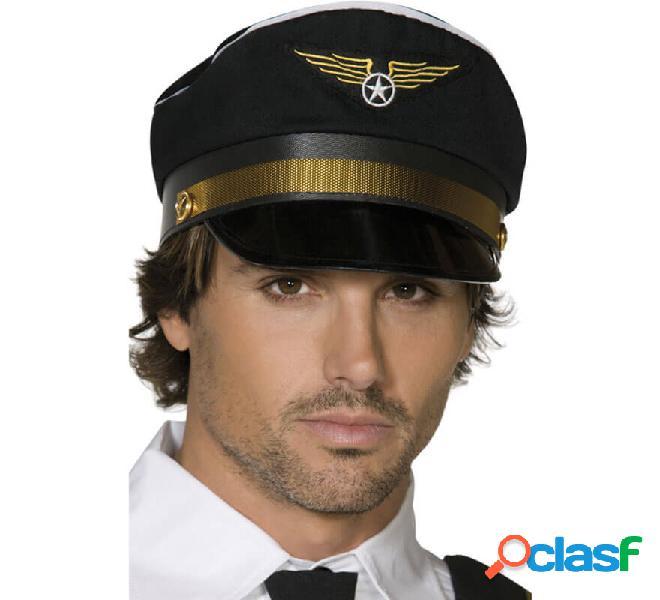 Tappo capitano commerciale colore nero con logo