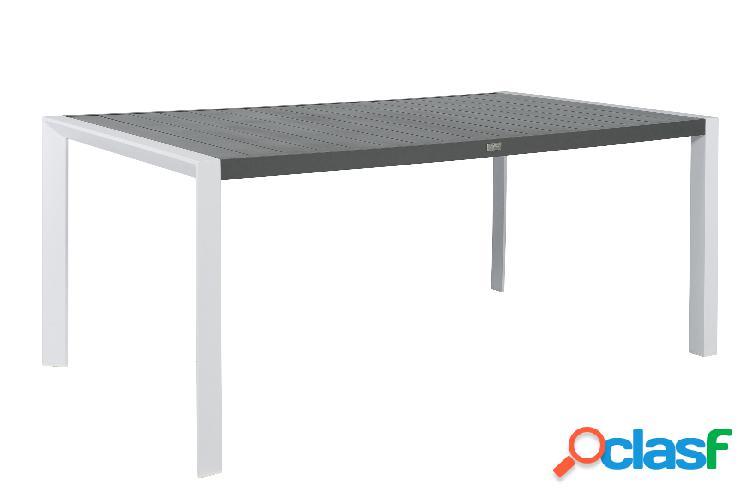 """Tavolo da giardino 180x100 """"Plaza"""" Alluminio"""