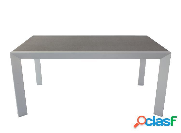 Tavolo da giardino grigio/color antracite 160x90 cm
