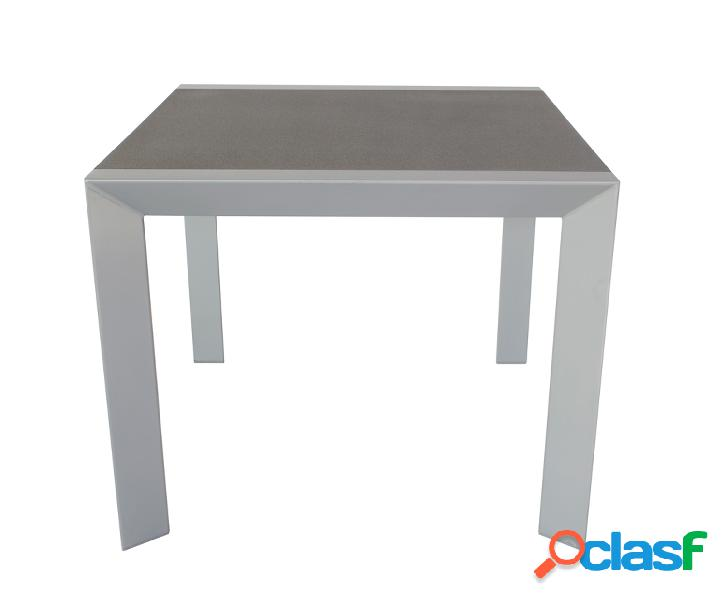 Tavolo da giardino grigio/color antracite 90x90 cm