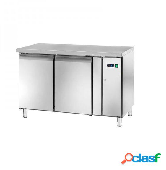 Tavolo frigo - 2 porte - Prof. 600 mm - temperatura