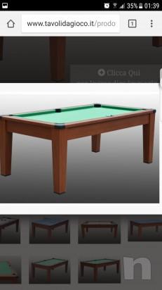 Tavolo ping pong e biliardo 4 in 1