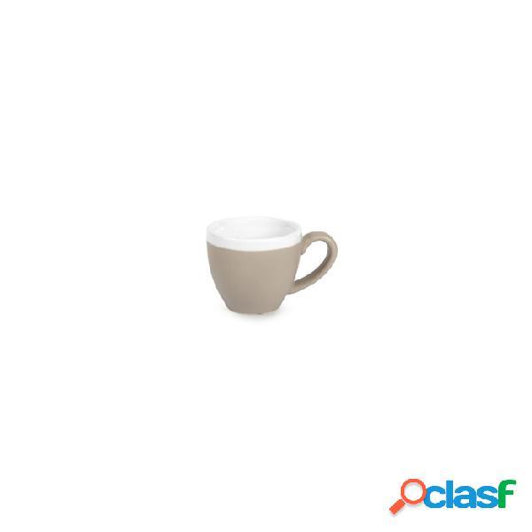 Tazza Caffè Coffee&Co Senza Piatto In Porcellana Tortora Cl