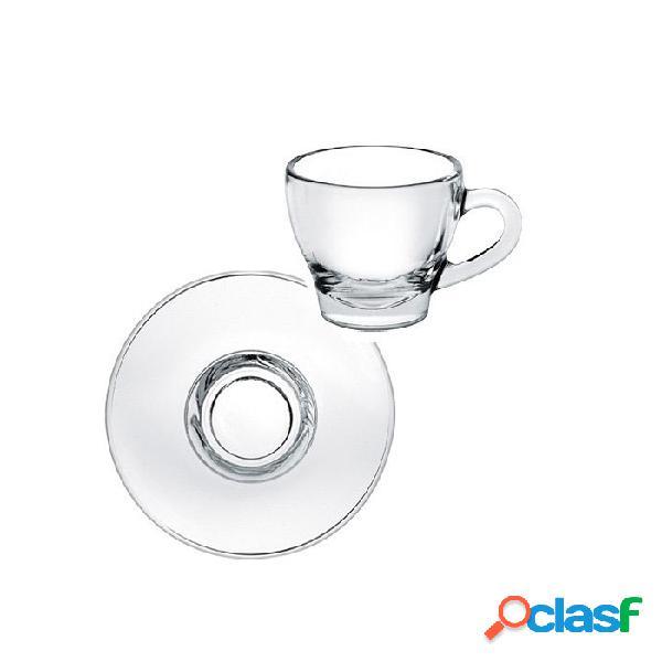 Tazza Cappuccino Ischia Senza Piatto In Vetro Cl 18 -